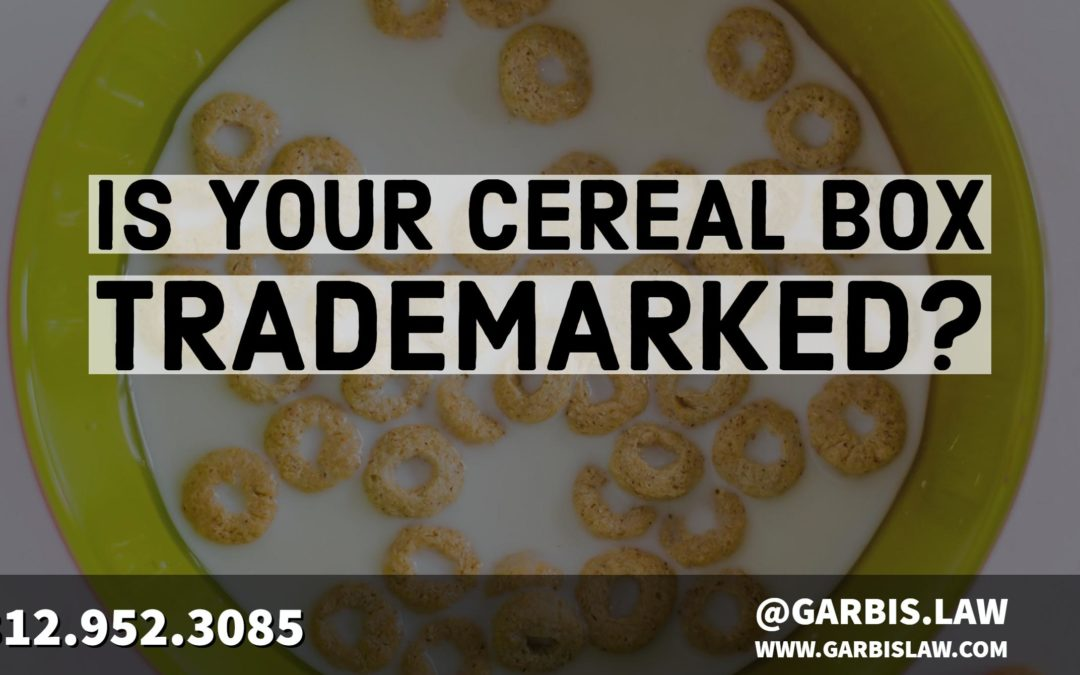 Is Your Breakfast Cereal Trademarked?